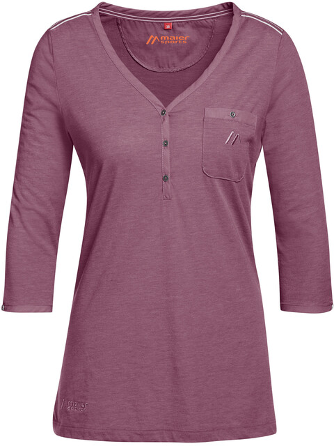 Maier Sports Clare - Camiseta manga corta Mujer - violeta